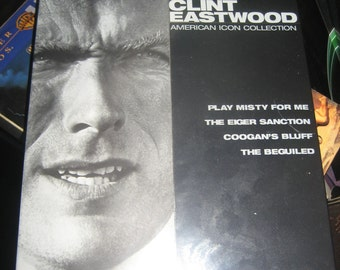 Clint Eastwood American Icon Collection 4 Classic Movies on DVDs