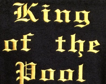 King of the Pool Towel
