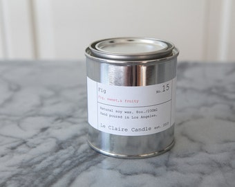 No. 15 Fig / soy candle