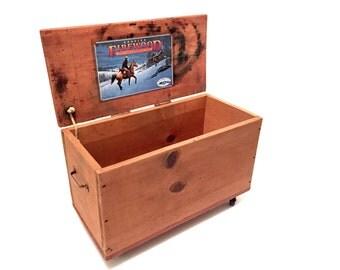Antique Wood Chest / Crate