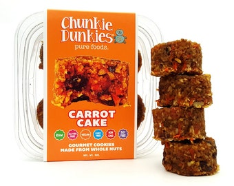 Raw Vegan Carrot Cake Cookies