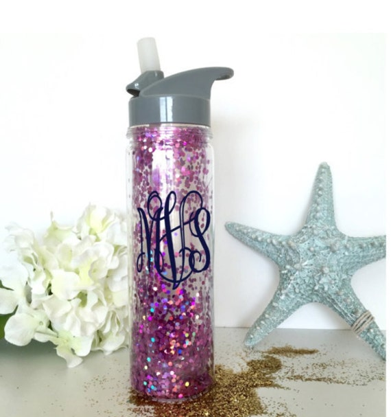how to make a glitter water bottle