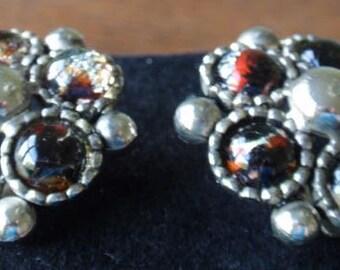 Yusca hand designed vintage earrings