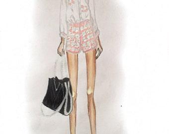 Lola - Fashion Illustration Art Print