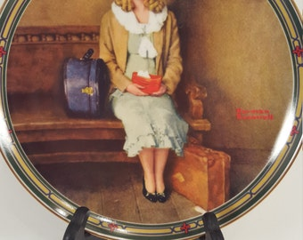 Norman Rockwell; A Young Girl's Dream; Collectible plate; mint condition; 1985