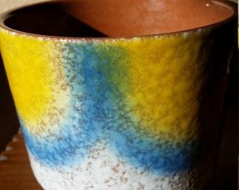 West Germany Flower Pot