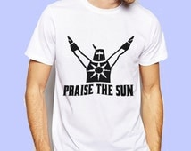 Praise The Sun Goals Game Inspired T-shirt. Male and Female Apparel