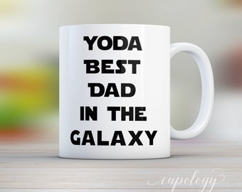 Yoda Best Dad Mug, Fathers Day gift, Husband Gift, Gift for Him, Dad Gift, Star Wars Mug, Funny Coffee Mug, gift from son,