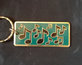 Musical Note Keychain