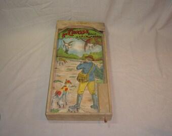 Poosh-m-up. Table de flipper. Chasse. Vintage toys. Hunt hunter. Chasseur