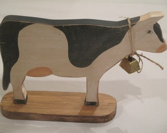 Country Cow with bell