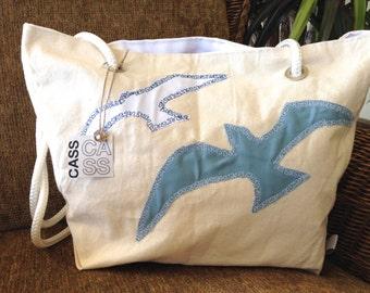 Seagull Beach Bag, Nautical