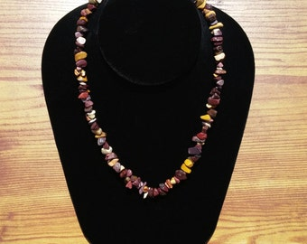 Necklace / Bracelet Mookaite Jasper