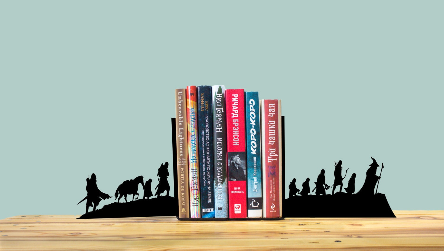 Handmade bookends in the lord of the rings style by storyholders - Lord of the rings bookends ...