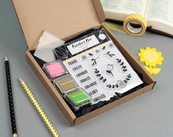 Eden - Stamp Starter Kit, Clear Christian Stamps, Bible Journaling Stamp Kit
