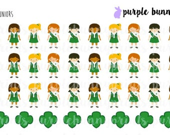 Juniors // Girl Scouts // Planner Stickers!