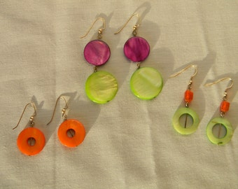 Bright Earring Set