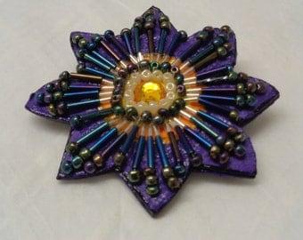 Purple Blossom - Pin