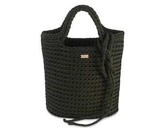 "Crocheted bag ""Terba Classic"" by SAVA design"