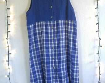 Southern Blue Bell Button Dress
