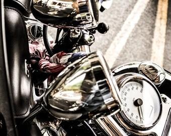 Harley Chrome (Print)