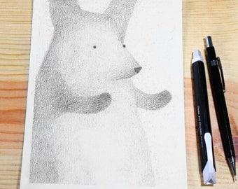 Rabbit Up Close & Personal