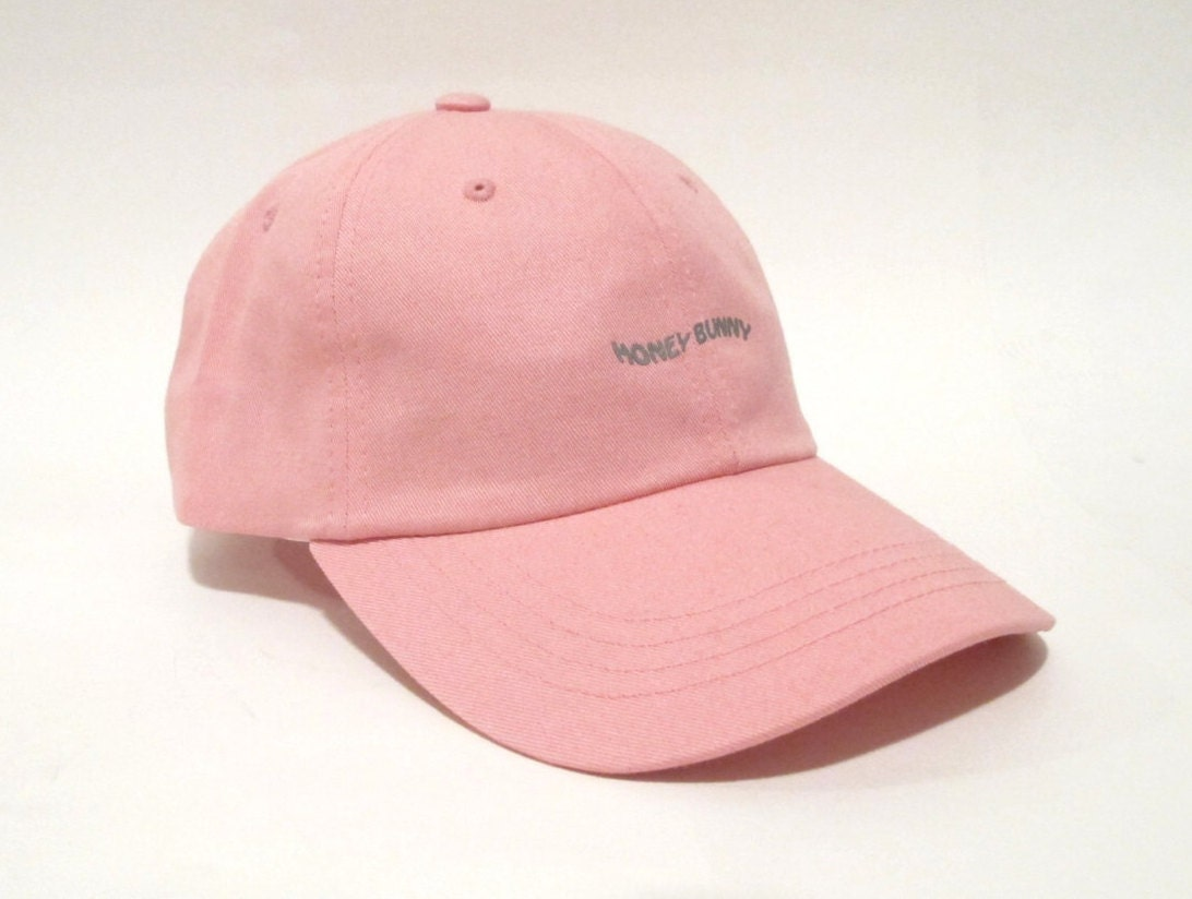 Honey Bunny 3m Reflective Dad Cap  Low Profile Unstructured Hat
