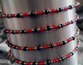 Red Delicious Wrap Bracelet