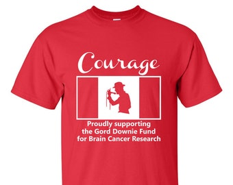 Gord Downie Fund for Brain Cancer Research MAN'S T-SHIRT