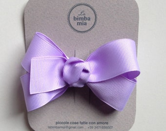 Moletta Grosgrain Ribbon grosgrain Ribbon Hair Bow-Wisteria
