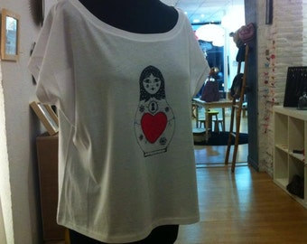 T-shirt Russian doll collection mothers
