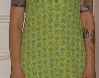 1960s Psychedelic Mini Dress