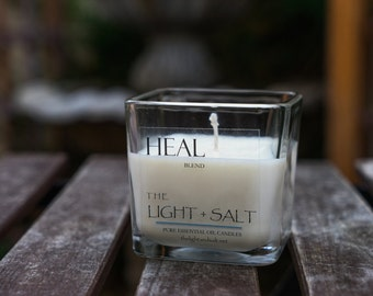 Heal - Pure Essential Oil Soy Candle