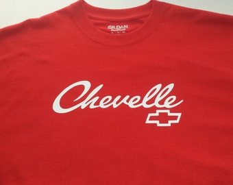 Chevy chevelle mens tshirt 7 COLORS to choose from sm-5xl