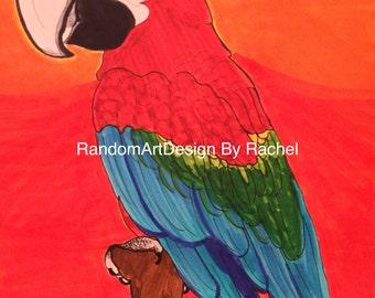 Hot Parrot