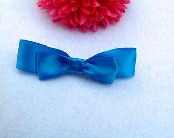 Princess Belle's blue hair bow