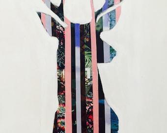 Deer Silhouette Print