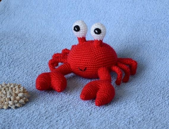 Crochet Amigurumi Crab : Crochet Crab Crab toy Amigurumi Crab Crochet toy Crab
