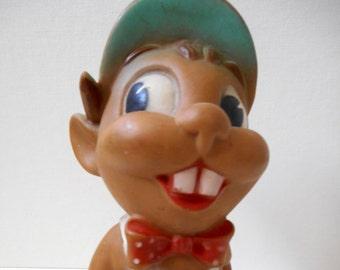 Vintage 1950's Dreamland Creations Beaver Squeak Toy (Rare)