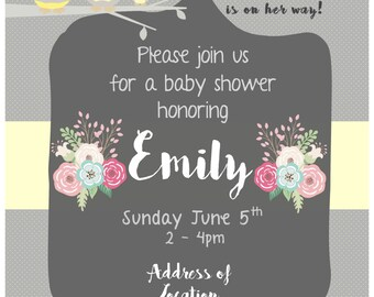 Birthday and Baby shower invitations
