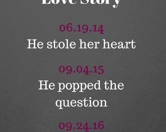 Our Wedding Love Story