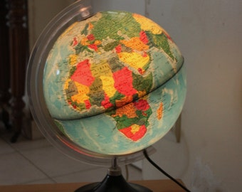 Globe Earth vintage made in Italy / Holy10lighting