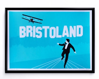 Cary Grant in Bristol - Screenprint - Limited Edition