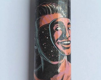 You are the universe custom BIC lighter