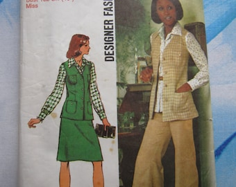 Simplicity 5812 1973 Separates Sewing Pattern 18