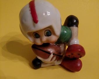 Vintage Football Figurine made in Japan