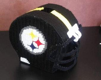 Pittsburgh Steelers helmet tissue box cover