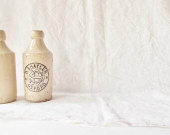 Antique Putty Stoneware bottle