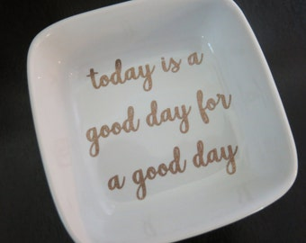 """Shop """"today is a good day for a good day"""" in Storage & Organization"""