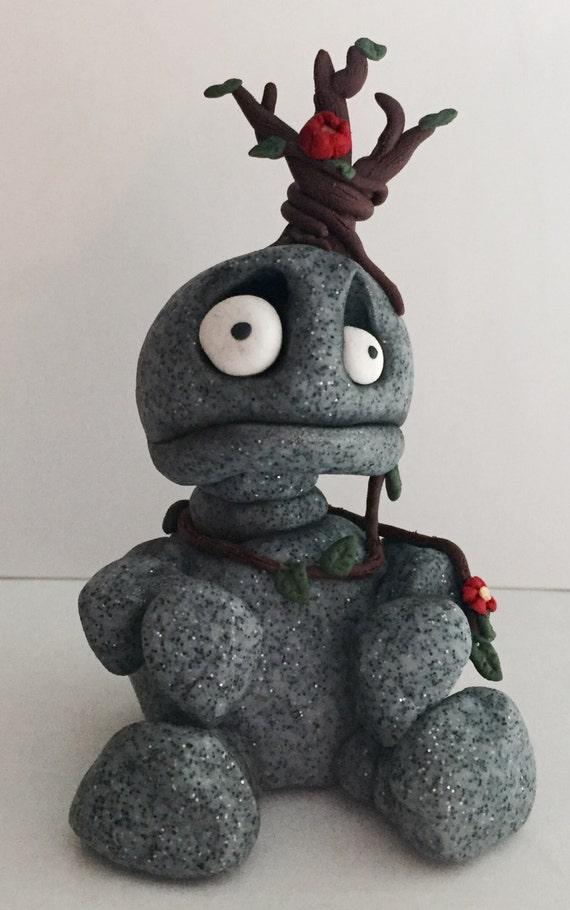 Stony the stone troll - Millefiore sculpture